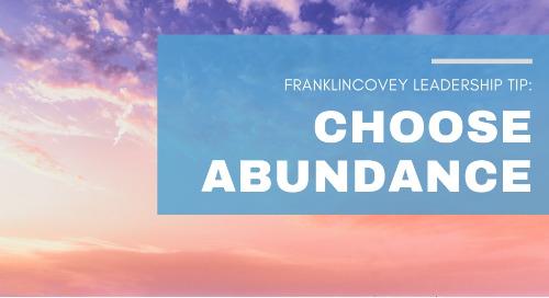 Choose Abundance
