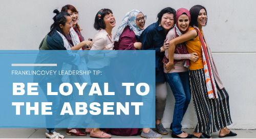 Be Loyal to the Absent