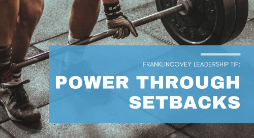 Power Through Setbacks
