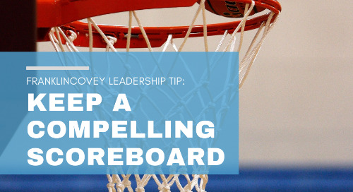 Keep a Compelling Scoreboard