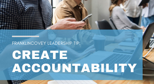 Create Accountability