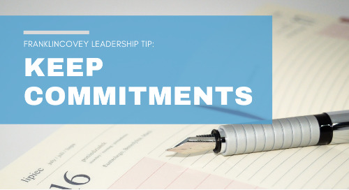 Keep Commitments