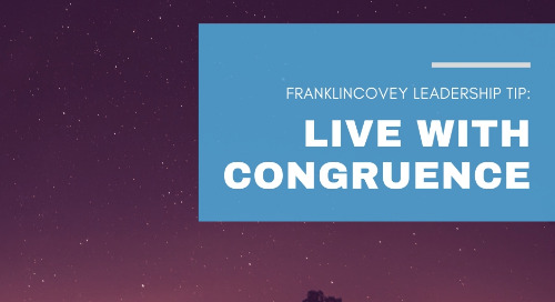 Live with Congruence