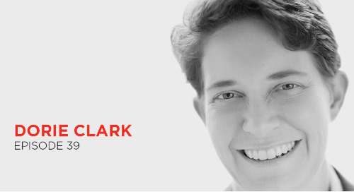 Share your ideas with the world: Dorie Clark