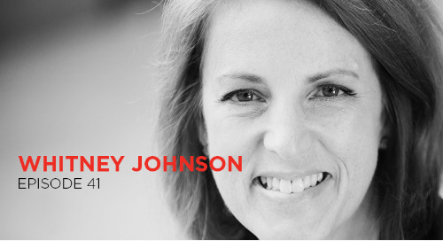 Learn, leap, and repeat: Whitney Johnson