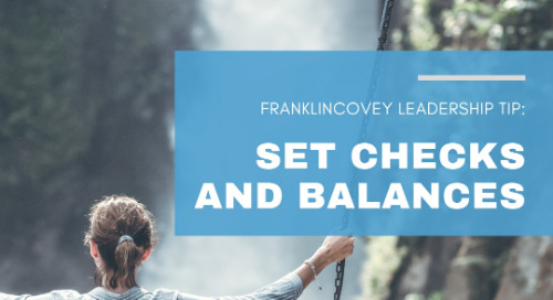 Set Checks And Balances