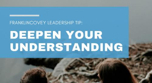 Deepen Your Understanding