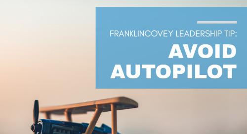 Avoid Autopilot
