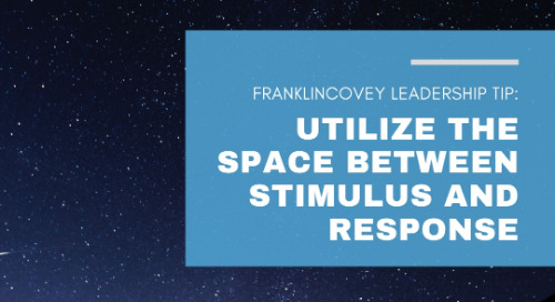 Utilize the Space Between Stimulus and Response