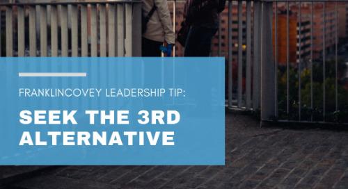 Seek 3rd Alternatives