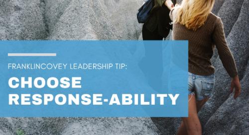 Choose Response-ability