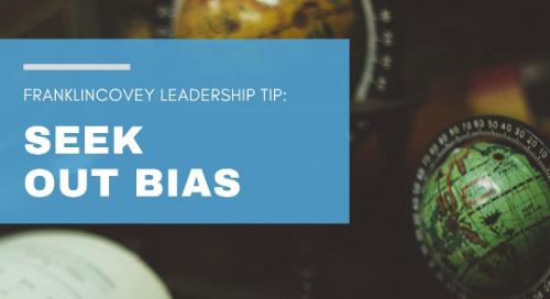 Seek Out Bias