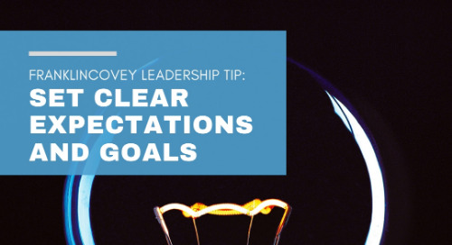 Set Clear Expectations And Goals