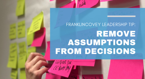 Remove Assumptions From Decisions