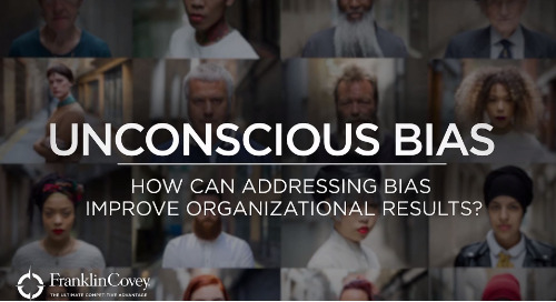 How Can Addressing Unconscious Bias Improve Organizational Results?