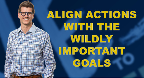 Align Actions With The Wildly Important Goals