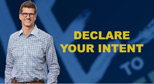 Declare Your Intent