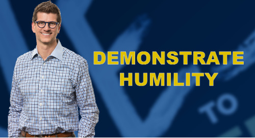 Demonstrate Humility