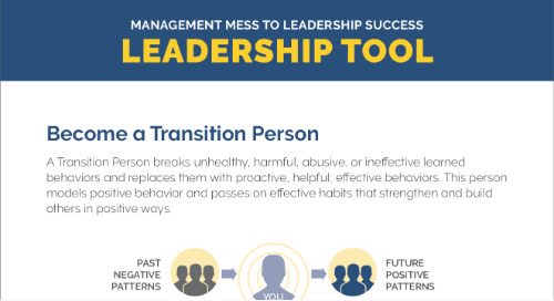 Become A Transition Person - Tool