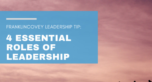 4 Essential Roles of Leadership