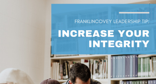 Increase Your Integrity