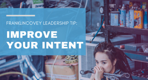 Improve Your Intent