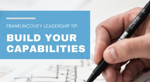 Build Your Capabilities