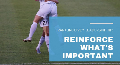 Reinforce What's Important