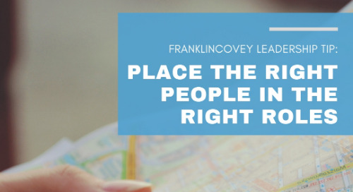 Place the Right People in the Right Roles