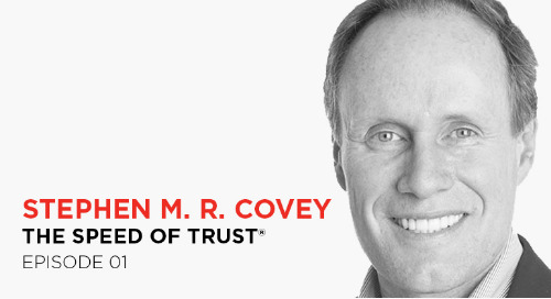 Increase trust within your team: Stephen M. R. Covey