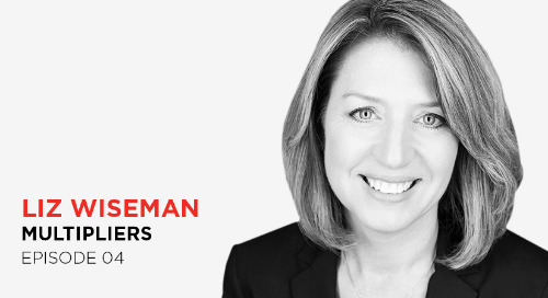 You don't need to be the smartest person in the room: Liz Wiseman