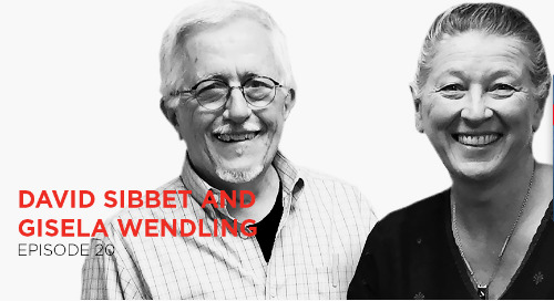 The power of turning ideas into images for outcomes: David Sibbet and Gisela Wendling