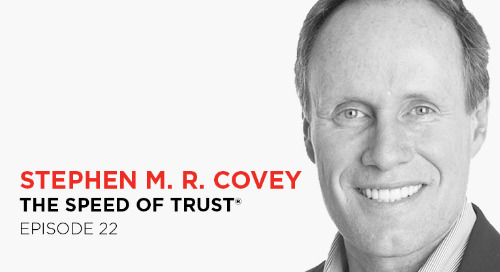 Credibility - the foundation of trust: Stephen M. R. Covey