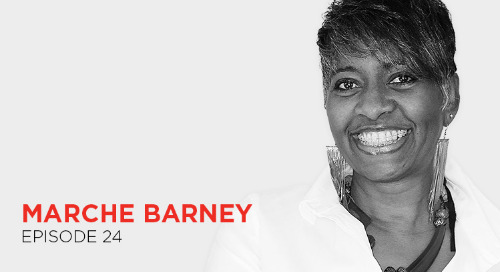 Feel competent, credible, and comfortable when you present: Marche Barney