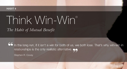 Habit 4: Think Win-Win®