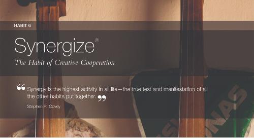 Habit 6: Synergize®