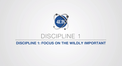 Discipline 1: Focus on the Wildly Important