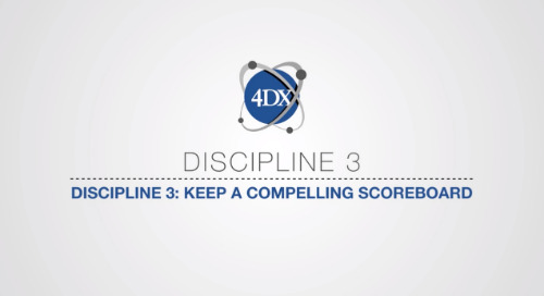 Discipline 3: Keep A Compelling Scoreboard