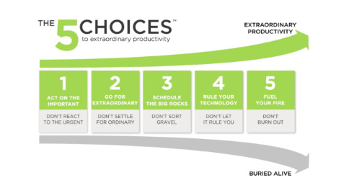 The 5 Choices to Extraordinary Productivity®