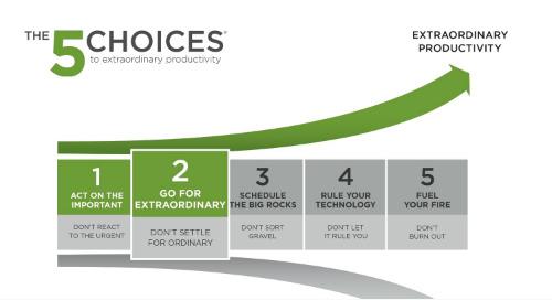 Choice 2: Go For Extraordinary