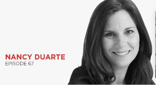 Use data to communicate up: Nancy Duarte