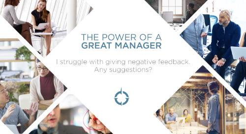 I Struggle With Giving Negative Feedback
