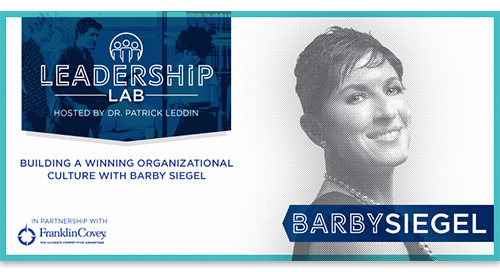 Building a winning organizational culture with Barby Siegel