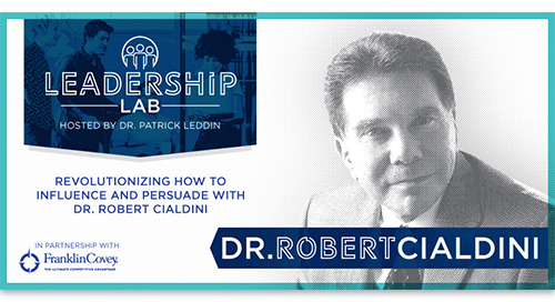 Revolutionizing how to influence and persuade with NYT bestselling author Dr. Robert Cialdini