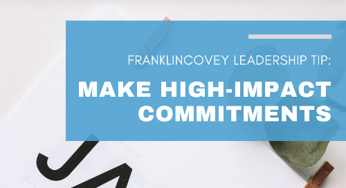 Make High-Impact Commitments