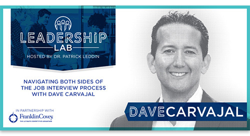 Navigating both sides of the job interview process with Dave Carvajal