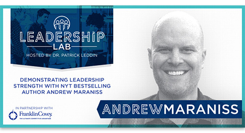 Demonstrating leadership strength with NYT best-selling author Andrew Maraniss