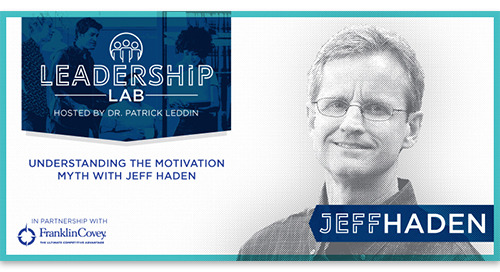 Understanding the Motivation Myth with Jeff Haden