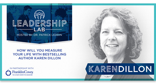 How will you measure your life with NYT bestselling author Karen Dillon