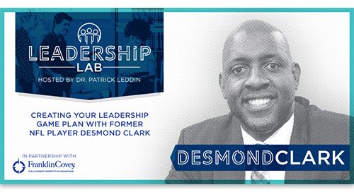 Create your leadership game plan with Desmond Clark